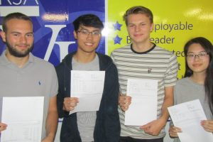 Results photo A level